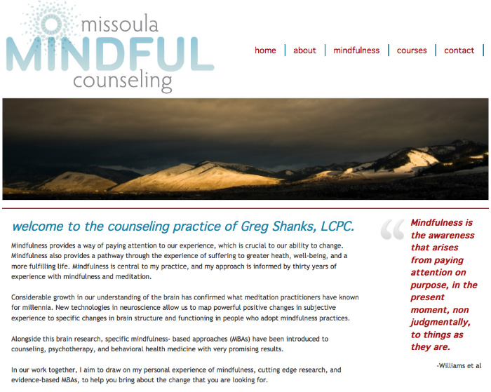 Missoula Mindful Counseling - Missoula, Montana